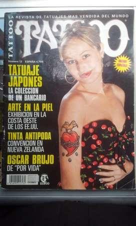 Revista de tatuajes TATTOO N 12 edición española 90 paginas