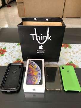 iPhone XS Max 256gb silver, Prácticamente Nueva batería 100%.