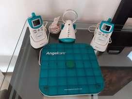 Se vende Equipo de  Monitoreo para bebé Ángel Care con 2 radios