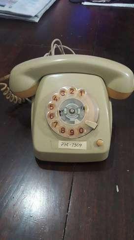 Vendo Teléfono a Disco Antiguo.