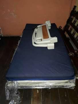 Cama Hospital Eléctrica 4 Funciones + colchón
