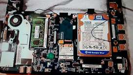 placa madre mainboard sony netbook vpcw210al