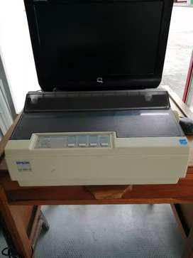 Vendo Impresora Epson LX-300+II Matriz de Punto