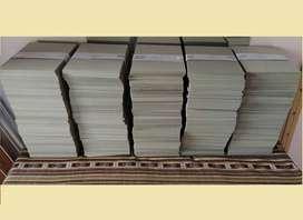 CARTON A5 (21 X 15,2 CM) - TAPAS AGENDAS