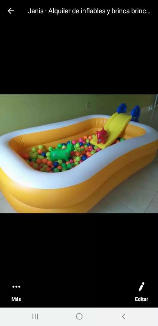 Alquiler de piscina de pelotas 0