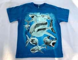 Remera tiburones NUEVA