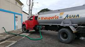 Tanquero de agua potable