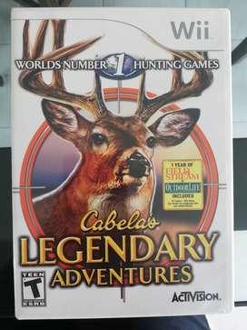 Juego Wii Legendary Adventures