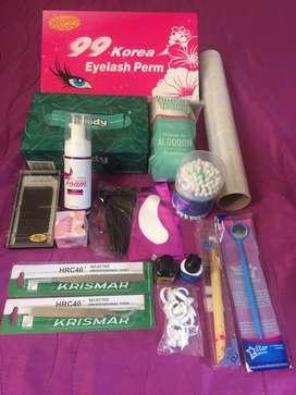 Kits para lifting y pestañas pelo a pelo