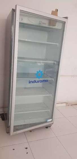 Congelador vertical INDURAMA.congelador de escarcha.