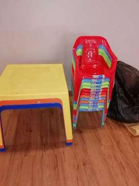 Alquiler de muebles para fiestas sociales