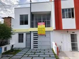 Venta casa unifamiliar para estrenar barrio lomitas excelentes acabados.