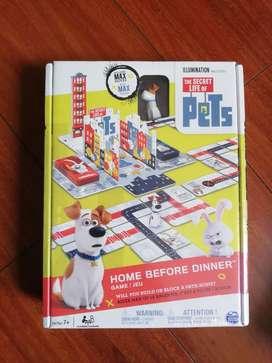 Juego de Mesa La vida secreta de tus Mascotas-antes de la cena