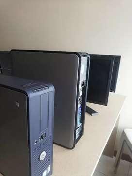 Se vende computadoras seminuevas