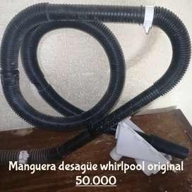 Manguera desagüe whirlpool