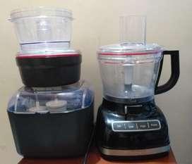 Procesador de Alimentos Kitchen Aid Semi Industrial Accesorios Completos 14 Tazas