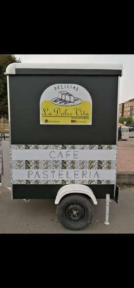 foodtruck, carro de comidas, trailer