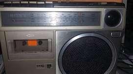 Grabadora Sony cuatro bandas  funciona la emisora