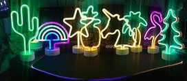 Lamparas de led neon