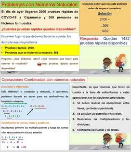 Reforzamiento y clases  virtuales por cuarentena