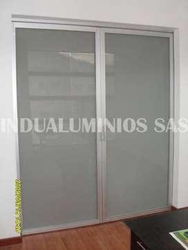 Puertas en Vidrio, Ventanas en Aluminio, Somos fabricantes.