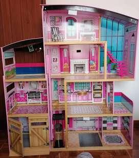 Casa grande de muñecas Kidkraft Shimmer Mansion SIN ACCESORIOS