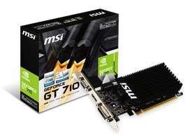 GeForce GT 710 Graphics Card Nueva liquido!!!