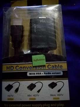 Cable convertidor