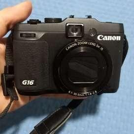Camara Canon G16