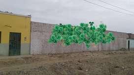 Vendo Lote Cercado De Material Noble De 1000 m2  O 500m2 En Los Huertos ,