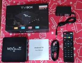 TV box  canales nacionales e internacionales