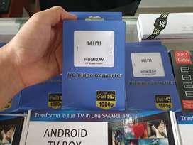 Convertidor AV A HDMI
