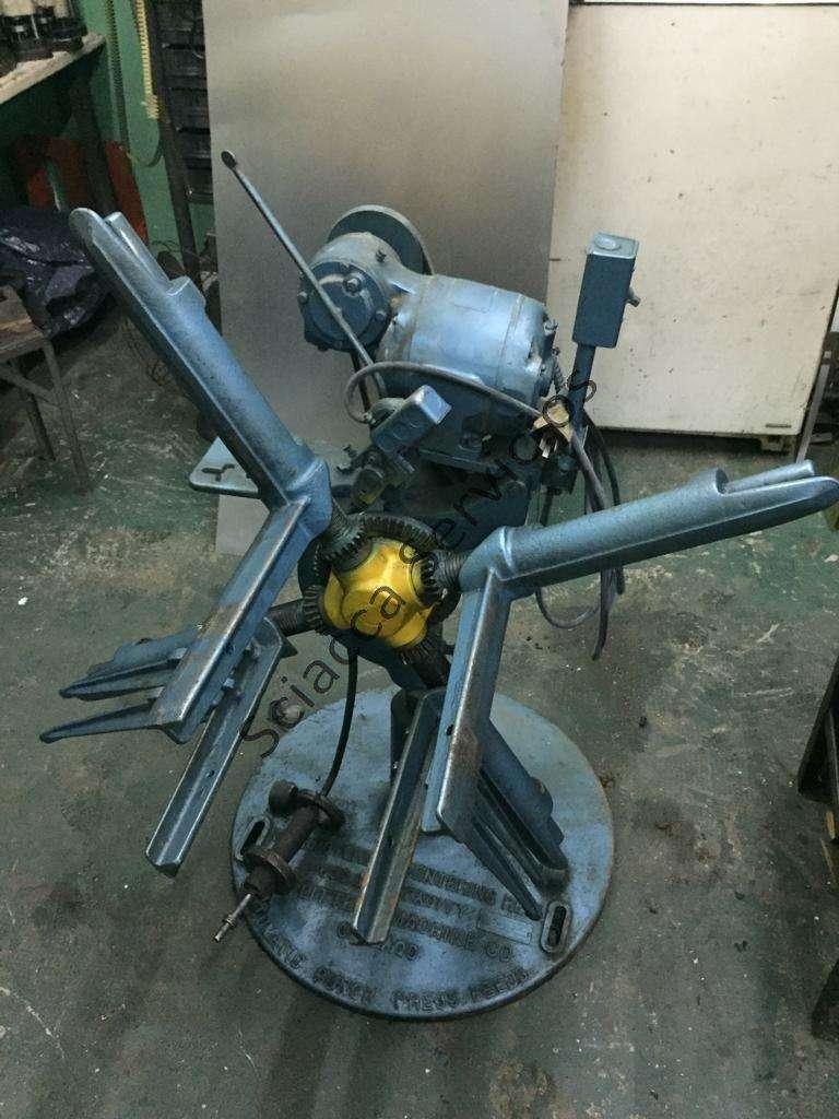 Desbobinador motorizado LITTEL 1200kgs--300mm ancho--perfecto estado 0