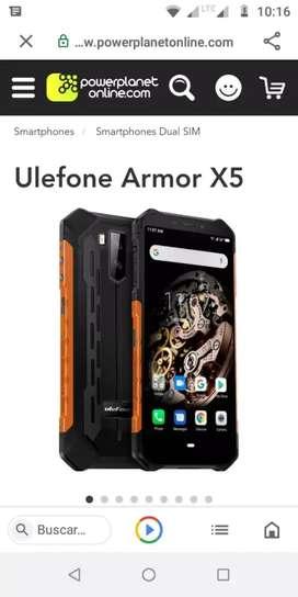 Armur x5 pro certificado militares