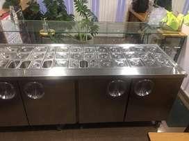 Mostrádor Refrigerante
