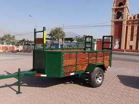Carreta tipo remolque trailer