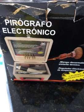 Pirograbador electronico