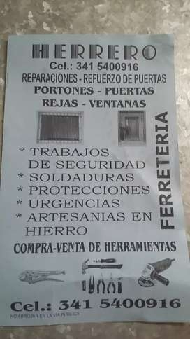 herrero seguridad protecciones