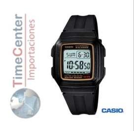 Reloj Casio Digital Para Hombre F-201wa-9a
