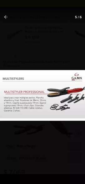 Rizador, planchita, multistylers gama