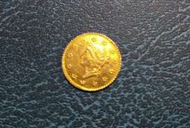 Dólar de Oro 1853