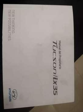 Manual de propietario hyundai tucson ix35 diésel 4x4