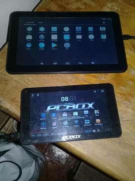 Vendo 2 tablets 7 y 10 pulgadas