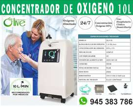 Concentrador de OXÍGENO - 10Lts