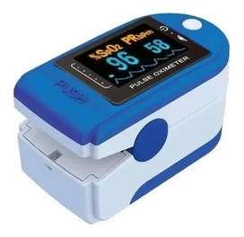 Oximetro con curva marca lemman  Indica oxigeno en sangre y ritmo cardiaco