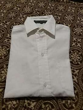 Camisa blanca para Uniforme Escolar