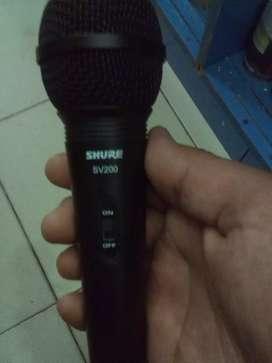 Micrófono Shure nuevo
