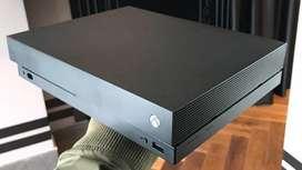 Xbox one X como nueva 3 meses gamepass