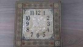 reloj de parede artesanía árabe de siria