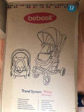Coche bebesit travel system prima